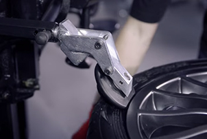 Демонтаж шины