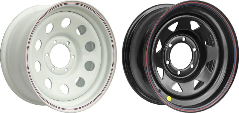 Стальные штампованные диски компании OFF-ROAD Wheels